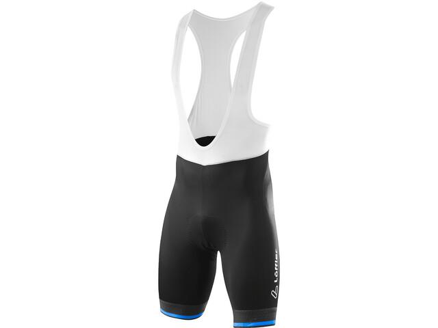 Löffler hotBOND Salopette Da Ciclismo Uomo, black/brilliant blue
